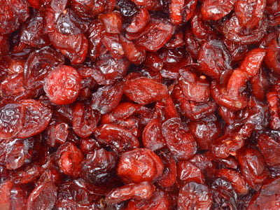 Dried Sulfite-Free Cranberries by
