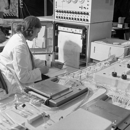 - A Sequential Multi Analyser Machine at Rotherham General Infirmary, 1967 Print Wall Art By Michael Walters