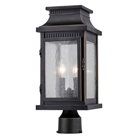 ArtCraft Mansard AC8173OB Post Lantern Add a timeworn touch to your driveway, walkway, or outdoor living space with the ArtCraft Mansard AC8173OB Post Lantern. For an aged appearance, the metal frame bears a distressed bronze finish and is paneled with seeded glass. A hinged access door makes it easy to replace the bulbs in the two candelabra lights. Artcraft Since 1955, Artcraft Lighting has operated on the belief that beautiful lighting should be as much about the experience as the light fixtures themselves. And to create that meaningful experience, Artcraft Lighting strives to provide lighting products that are designed to meet your decor, lifestyle, and budget needs - all while ensuring top quality and impeccable customer service. With Artcraft Lighting products, you can reap the benefits of more than 60 years of lighting experience.