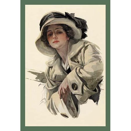 Harrison Fisher was a commercial artist from New York  He was known as The Father of a Thousand Girls and did extensive work for Cosmopolitan magazine Poster Print by Harrison Fisher