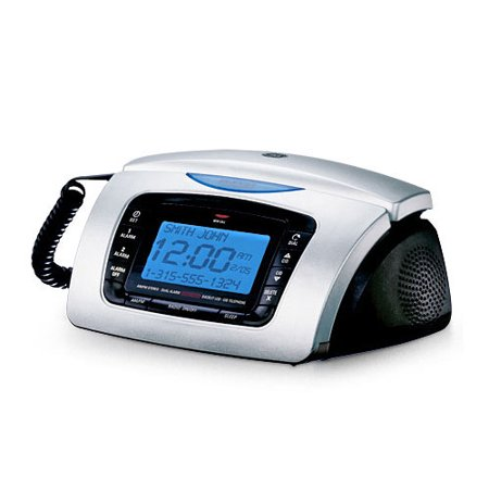 alarm clock radio corded bedroom phone - Bedroom Clock