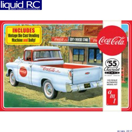 AMT 1094 1/25 1955 Chevy Cameo Pickup Coca-Cola