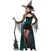 California Costumes Enchantress Adult Costume 1329 Black/Green