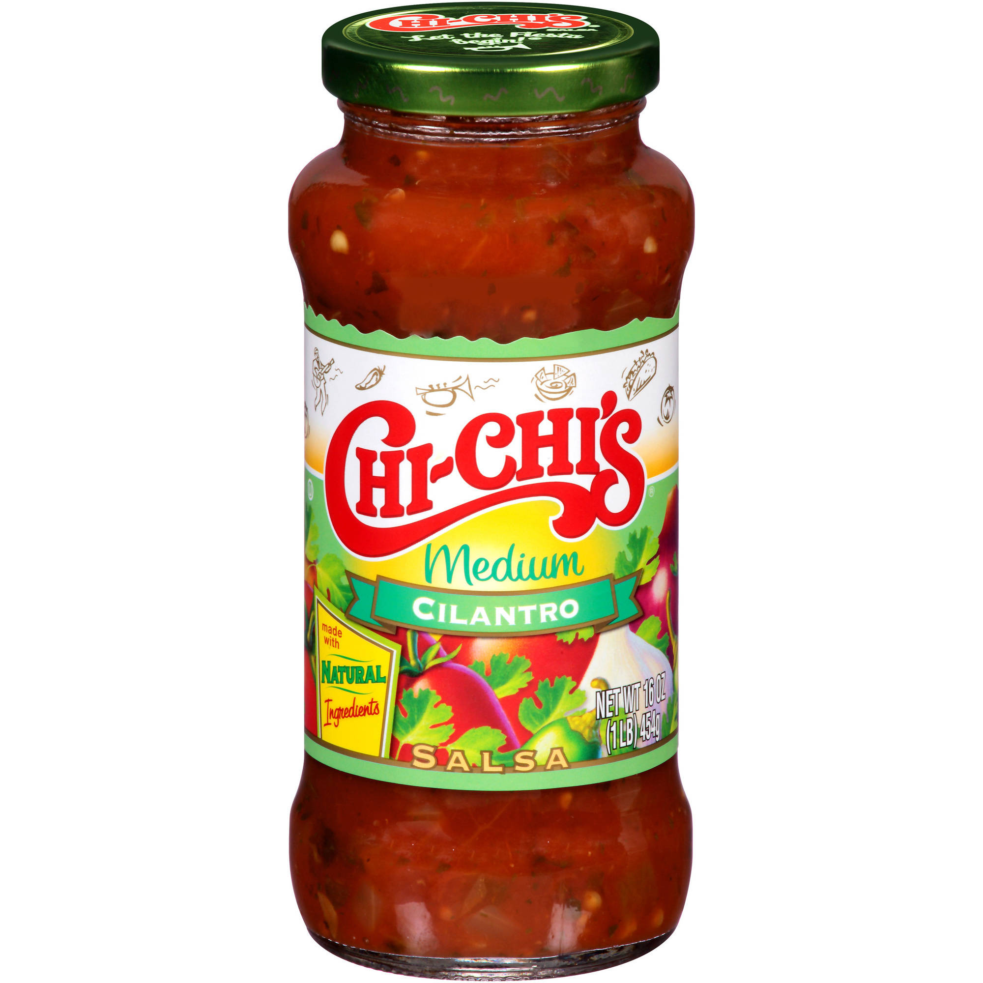 Chi-Chi's Medium Cilantro Salsa, 16 oz