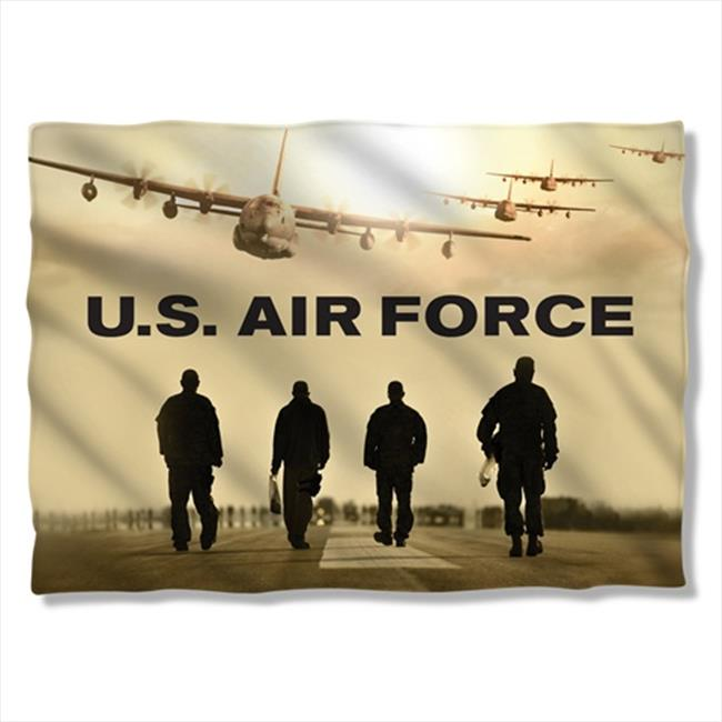 20 x 28 In. Air Force And Long Walk Pillow Case - White - image 1 de 1