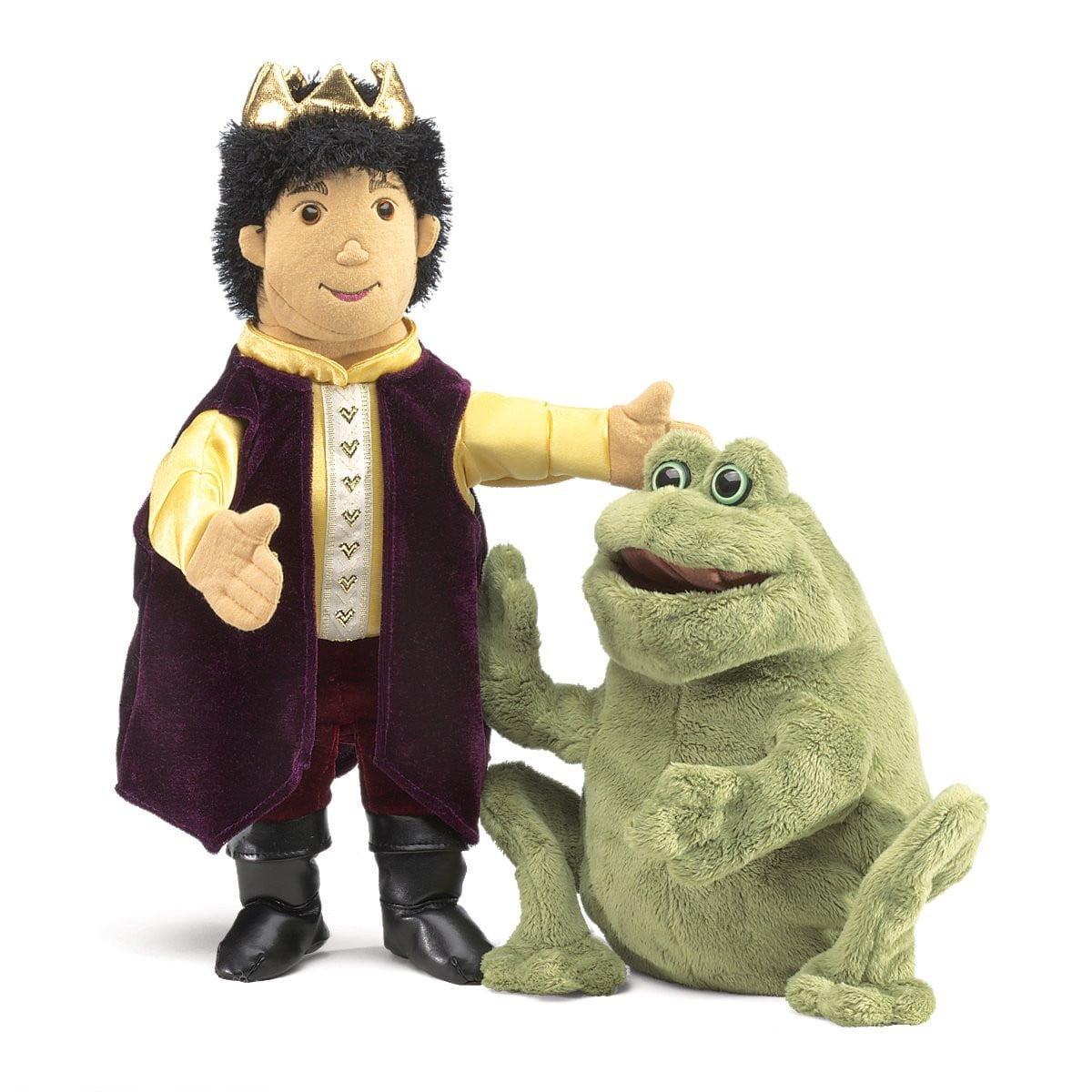 Folkmanis 2826 Frog Prince Reversible Puppet