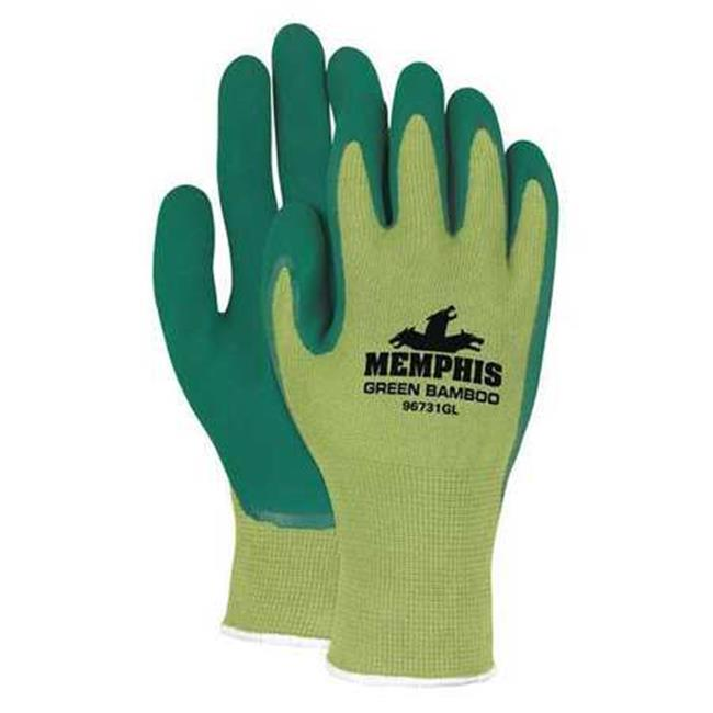 CREWS, INC. 96731GM Coated Gloves, Latex, Medium-Duty, Me...
