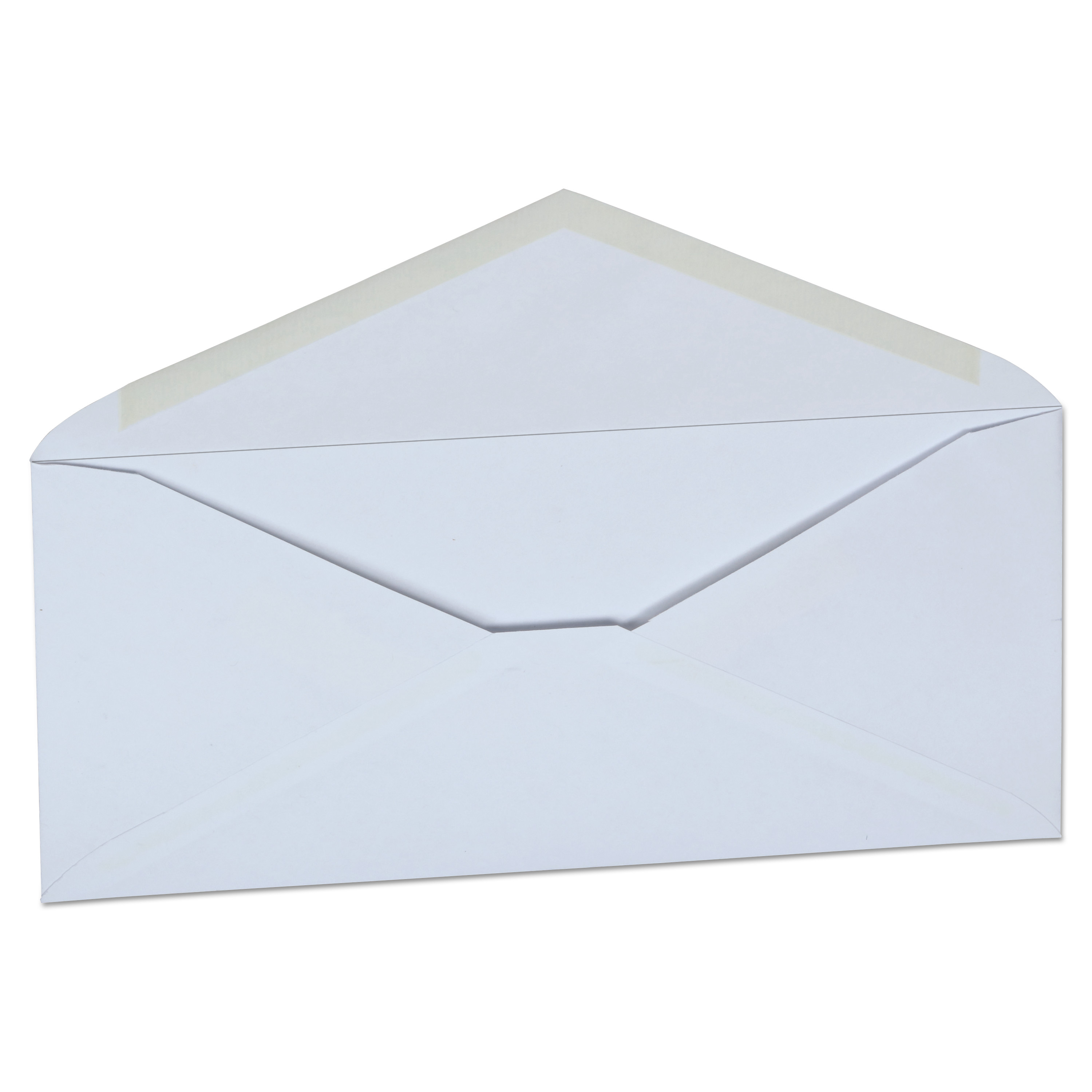 Office Impressions Plain Envelopes, #10, 4 1/8 x 9 1/2, White, 500/Box -OFF82292