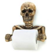 Zingz & Thingz Wall Mounted Skeleton Bathroom Tissue Holder