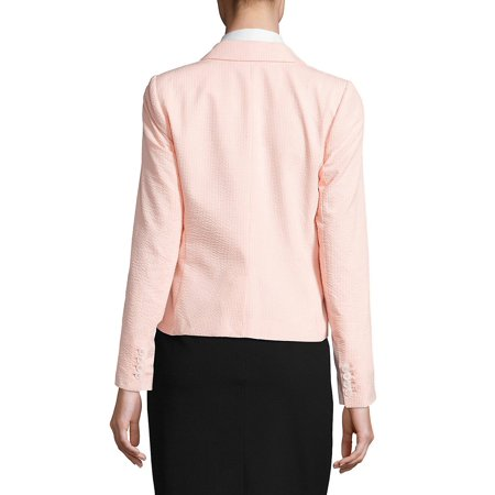 Best Seersucker Long Sleeve Jacket deal