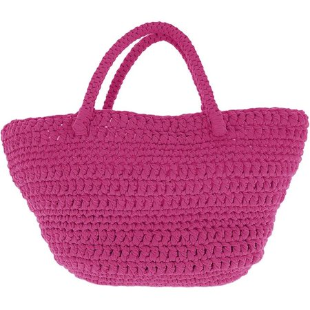 Hoooked PAK168-SP4 Crochet Avila Bag Kit with RibbonXL, Crazy Plum - image 1 de 1