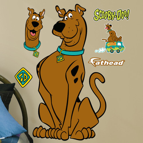 Fathead Warner Bros Scooby-Doo Junior Peel and Stick Wall Decal