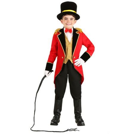 Ringmaster Halloween Costume Ideas (Child Ringmaster Costume)
