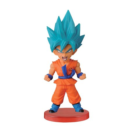 Dragon Ball Z 2.8-Inch Super Saiyan God Super Saiyan Goku World Collectable Figure, Z WarriorsStylized figures; excitement of character universe to all figure.., By