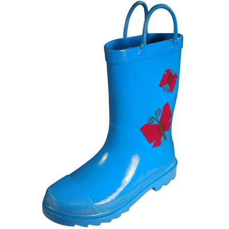 Totes Rubber Boots - Totes - Toddler Girls Rainboots Turquoise / 9MUSToddler