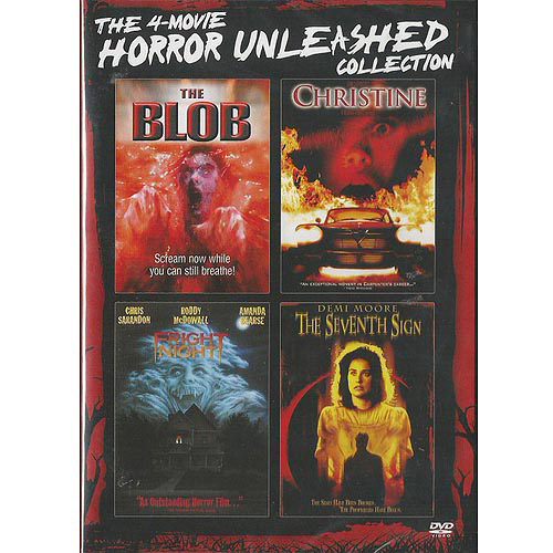 The 4-Movie Horror Unleashed Collection: The Blob (1988) / Christine (1983) / Fright Night (1985) / The Seventh Sign