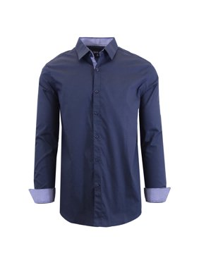 66fed12fe24a Product Image Men's Long Sleeve Stretch Cotton Dress Shirts