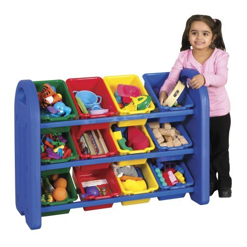 3 Tier Toy Storage Organizer w 12 Bins