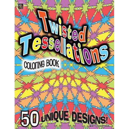 Twisted Tessellations Coloring Book : 50 Unique Designs - Halloween Tessellations