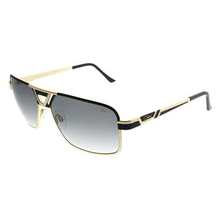 Cazal 9071 001SG Unisex Rectangle (New Cazal Sunglasses)