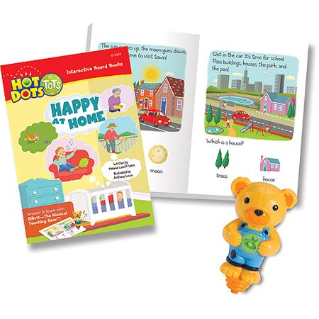 Educational Insights Hot Dots Tots My World Interactive Boar