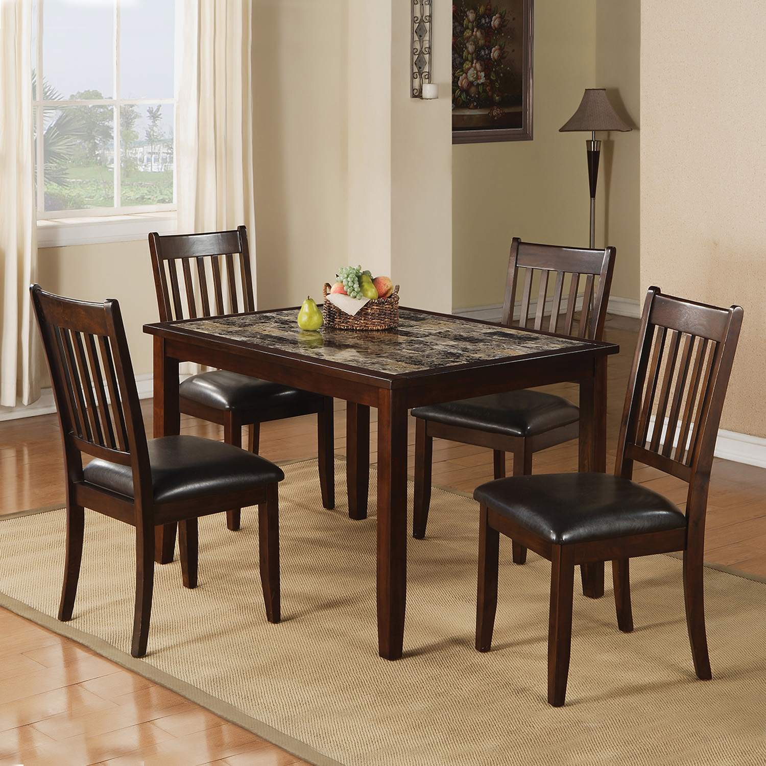 Home Source Counter Height Dining Set