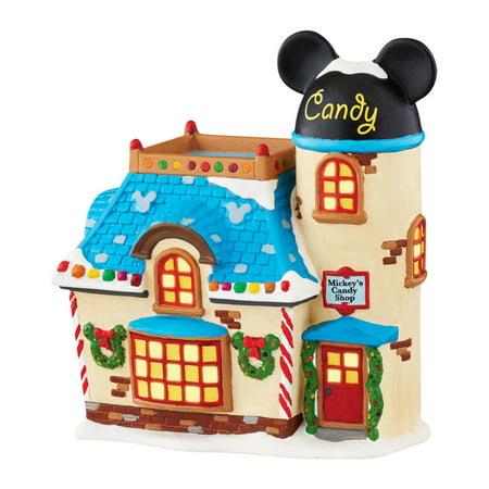 Department 56 Disney Village Mickey's Candy Shop Figurine Department 56 Heritage Village