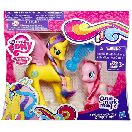 My Little Pony Mlp Princess Gold Lily And Pinkie Pie](Mlp Pinky Pie)