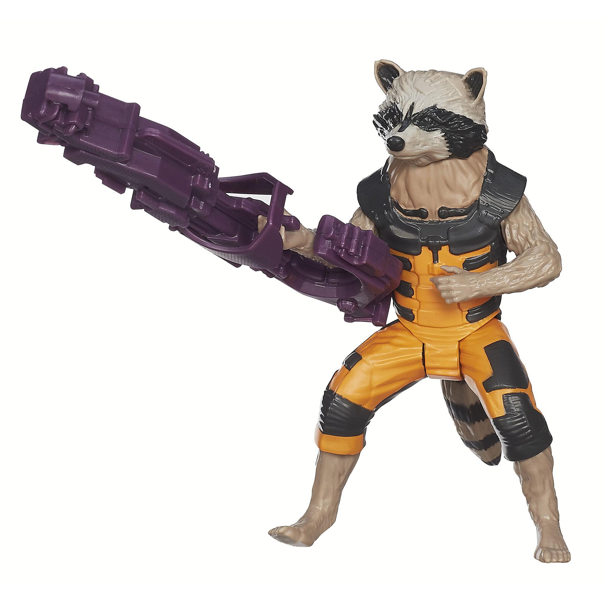 "Marvel Guardians Of The Galaxy Titan Hero Series Rocket Raccoon 12"" Action Figure by Hasbro, Inc."