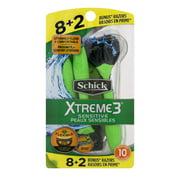Schick Xtreme3 Sensitive Men's Disposable Razors (Choose Your Count)