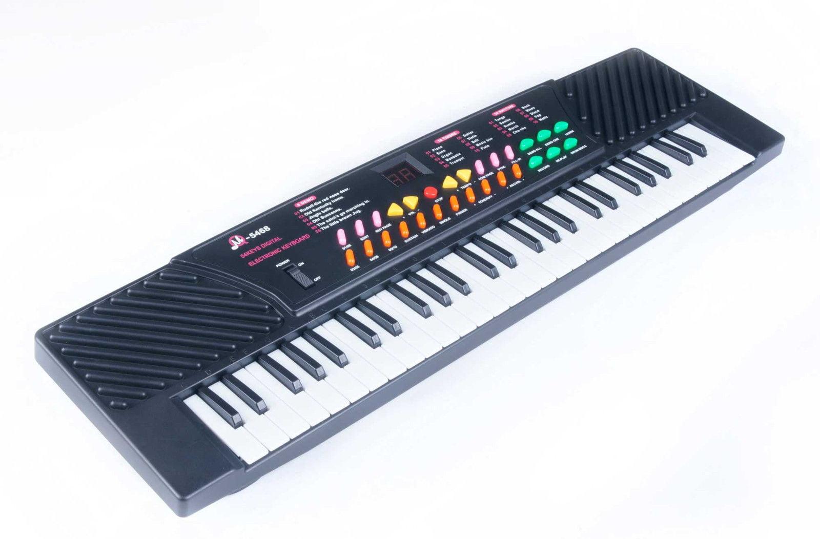 54 Key Childrens Electric Digital Keyboard Piano Electronic Music Organ by