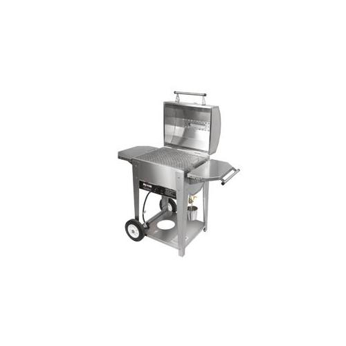 Wilmington Grill WG-JUNIOR-1NA 24'' Junior Stainless Steel Grill