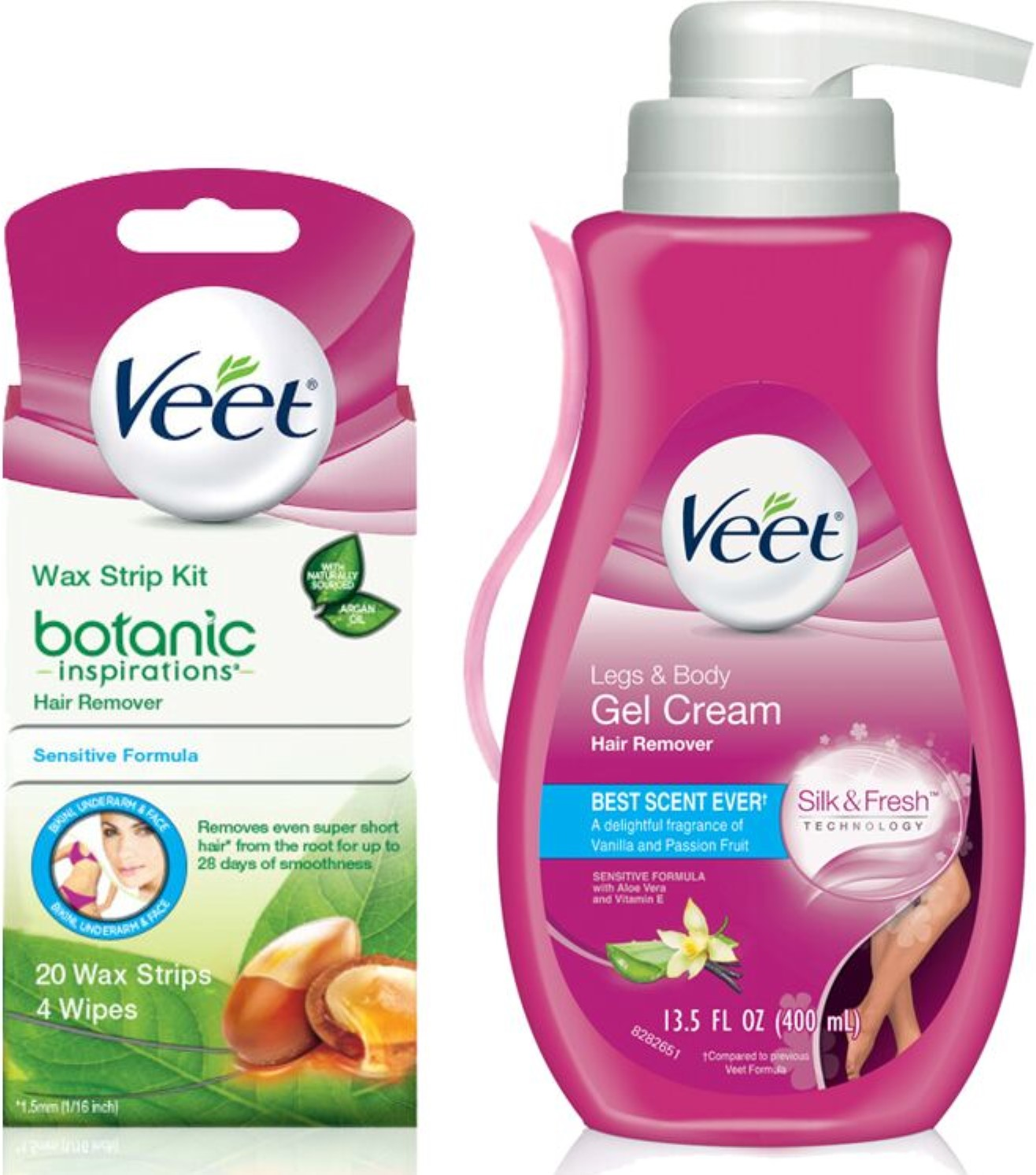 Veet Gel Hair Removal Cream Legs Body 13 52 Oz Botanic