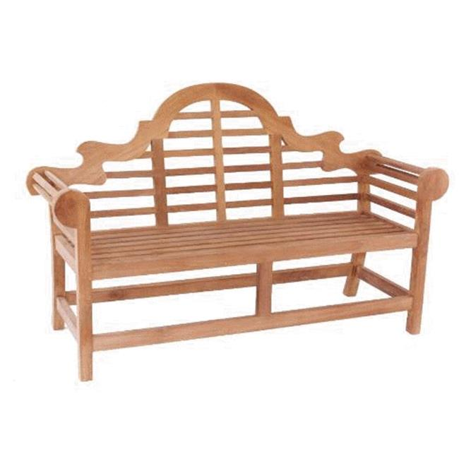 Anderson Teak BH-195 66 Inch Marlborough Bench 2-Seater