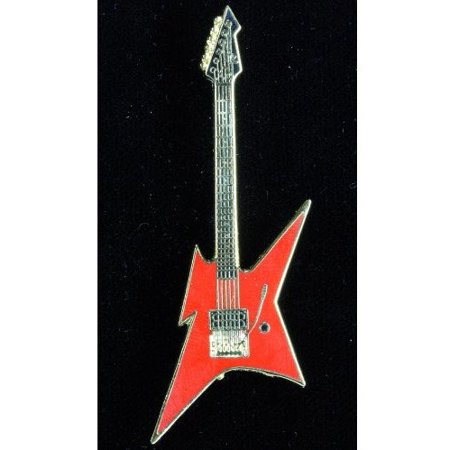 BC Rich Ironbird Electric Guitar in Gold and Red Bc Rich Warlock Electric Guitar