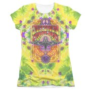 Jefferson Airplane  Take Off Girls Jr Sublimation White