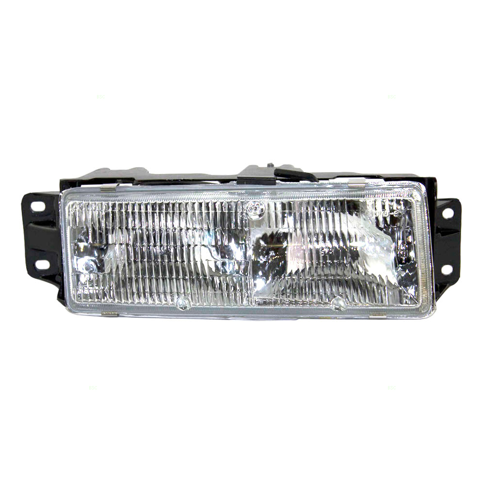 Passengers Composite Headlight Headlamp Replacement for Oldsmobile 16520814