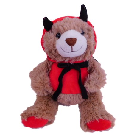Sweet Sprouts Halloween Plush Devil Teddy Bear Stuffed Animal Pal - Halloween Bear