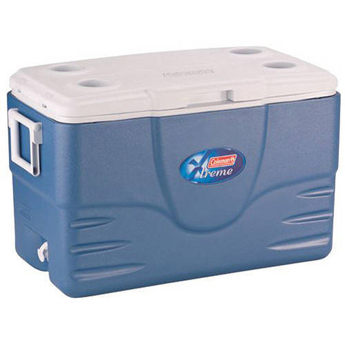 Coleman 52-Quart Xtreme 5-Day Heavy-Duty Cooler, Blue