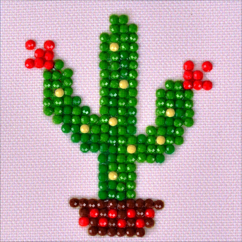 "Diamond Dotz Diamond Embroidery Facet Art Kit 4.75""X4.75""-Texas Bloom"