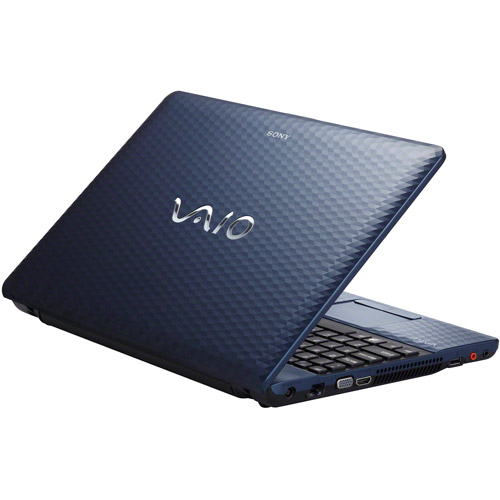 "Sony Blue 15.5"" Vaio VPCEH22FX/L Laptop PC with Intel Pentium Dual-Core B950 Processor and Windows 7 Home Premium"