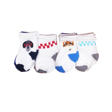 Jumping Beans Toddler Boys 10-Pairs Cotton Full Height Socks Animals