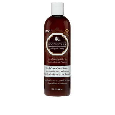 Loreal Textureline Curl Memory - HASK Coconut Milk & Organic Honey Curl Care Conditioner, 12oz