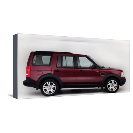 2005 Land Rover Discovery 3 Stretched Canvas Print Wall