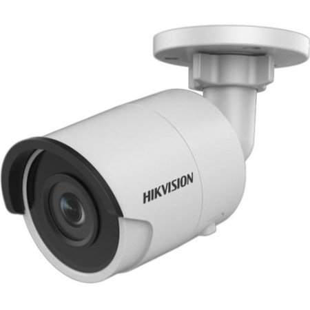 Hikvision EasyIP 3.0 DS-2CD2045FWD-I 4 Megapixel Network Camera - Color - 98.43 ft Night Vision - H.264, H.265, H.264+, H.265+, MJPEG - 2688 x 1520 - 6 mm - CMOS - Cable - Bullet - Junction Box Mount