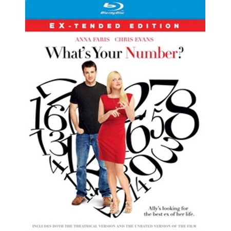 What's Your Number? (Blu-ray) (Junior Ray Bans On Adults)