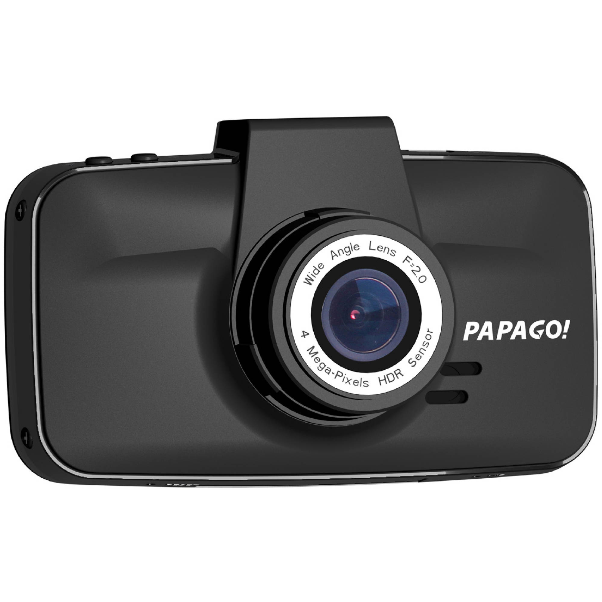 PAPAGO GoSafe 520 Super HD 2304x1296 Dash Cam Car DVR Dashboard Camera Video Recorder with Suction Mount, Superior Night Vision, Parking Monitor, G-Sensor, Black