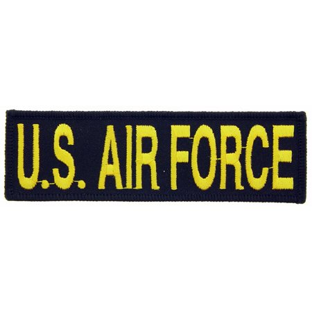 U.S. Air Force Patch Black & Yellow 1 1/4
