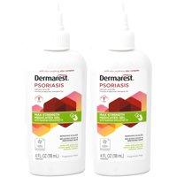 2 Pack Dermarest Psoriasis Max Strength Medicated Gel, 4 Fluid Ounces each