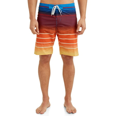 Men's Frequency Stripe Stretch 9 Inch Boardshort